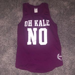 """Oh Kale No"" PINK Shirt"